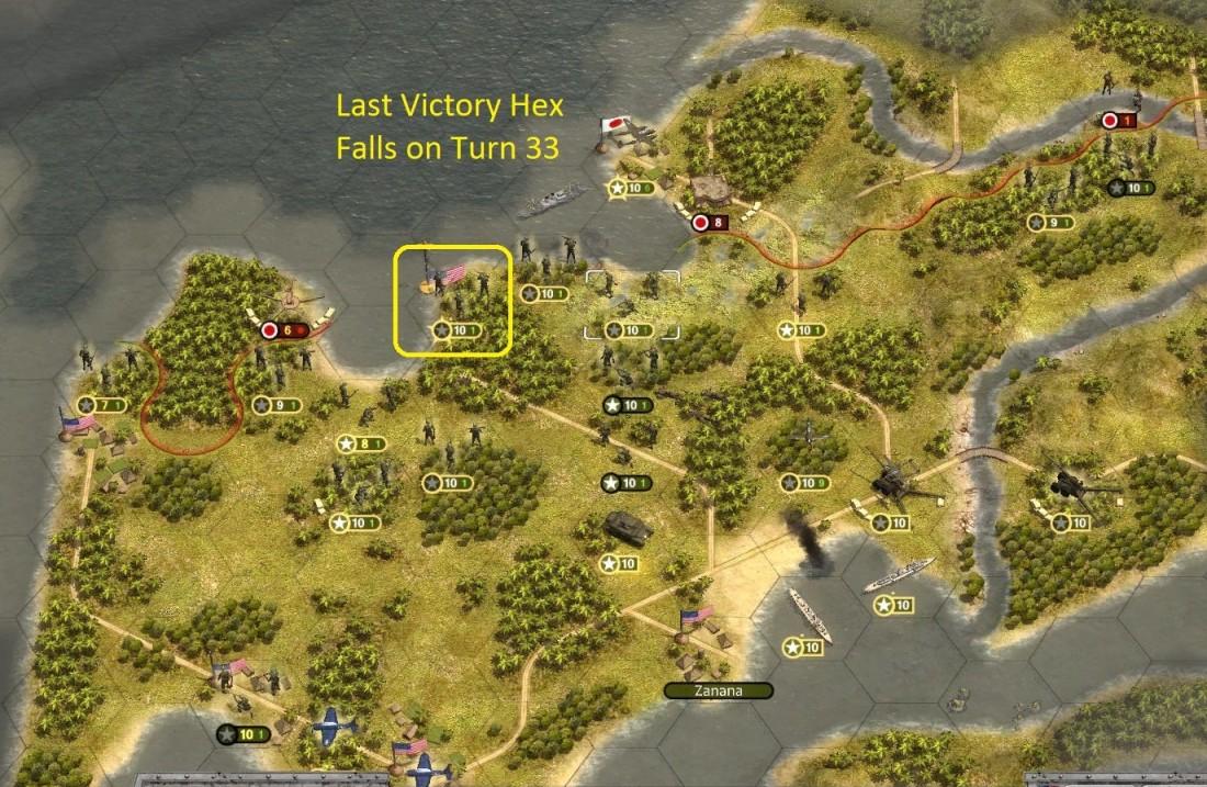 38 - Turn 33 Last Victory Hex Falls